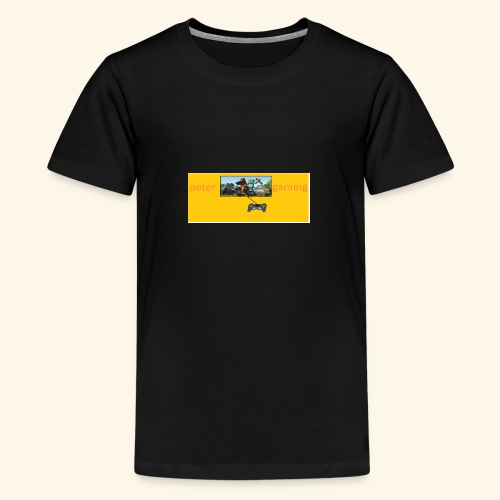 peter gaming - Teenage Premium T-Shirt