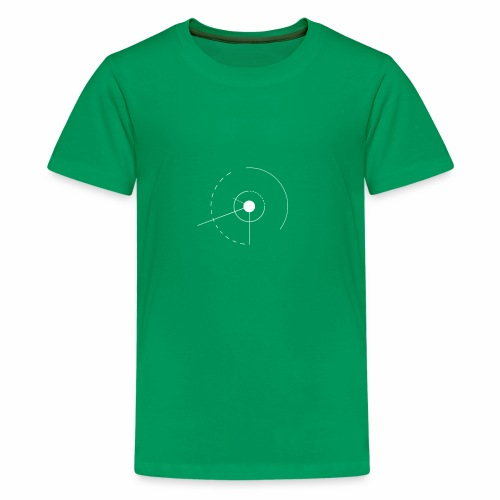 angles et cercles - T-shirt Premium Ado