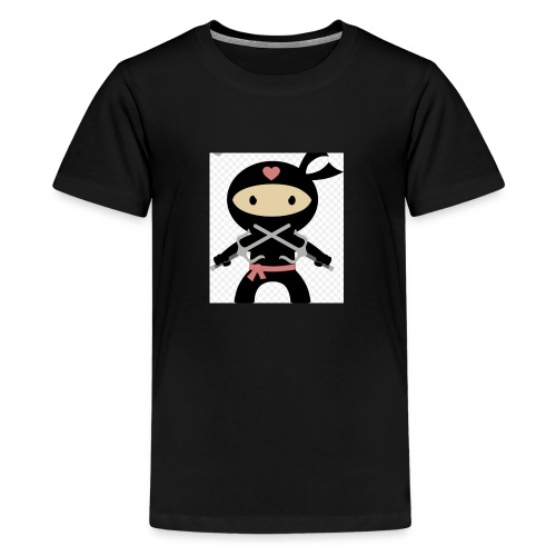 Ninja mia good - Teenage Premium T-Shirt