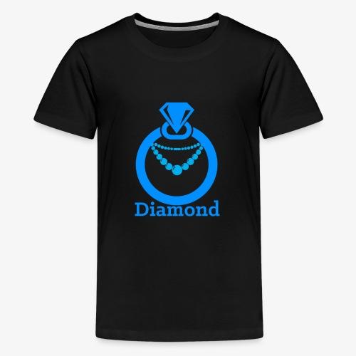 Diamond - Teenager Premium T-Shirt