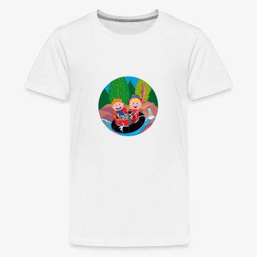 Themepark: Rapids - Teenager Premium T-shirt
