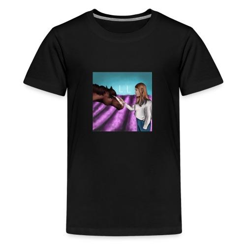 Luciana_Horse - Teenager Premium T-Shirt