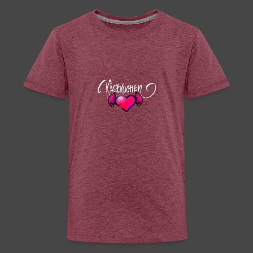 Logo and name - Teenage Premium T-Shirt