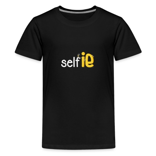 SELF-SELFIE - Teenage Premium T-Shirt