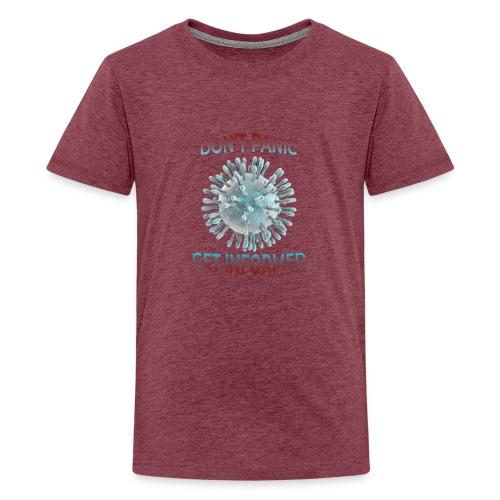 coronavirus - Camiseta premium adolescente