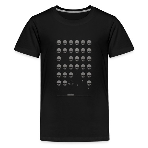 Playing with Death - Teenage Premium T-Shirt
