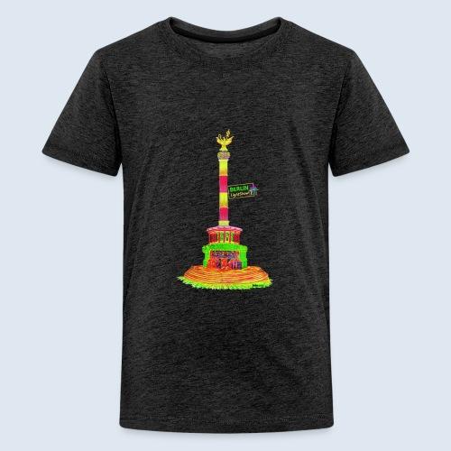 Siegessäule / BerlinLightShow / PopArt - Teenager Premium T-Shirt