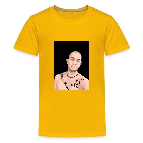 Justin Ahlberg Art - Premium-T-shirt tonåring