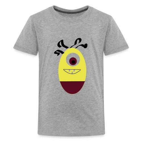 Gult æg - Teenager premium T-shirt