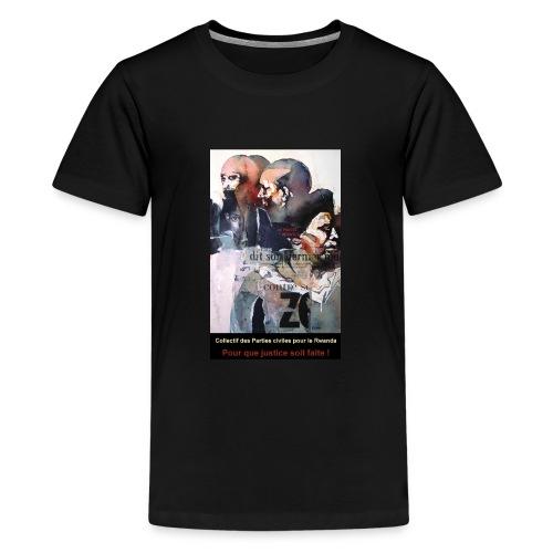 Collectif des Parties Civiles - T-shirt Premium Ado