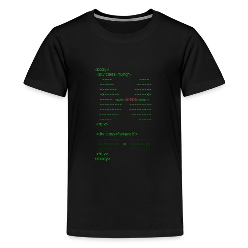 html body - Teenager Premium T-Shirt