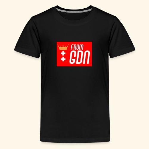#fromGDN - Koszulka młodzieżowa Premium
