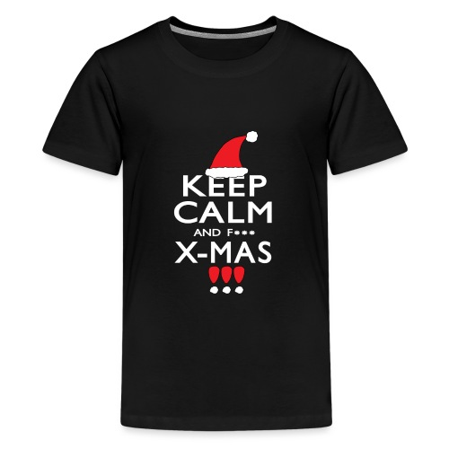 Keep calm XMAS - Teenager Premium T-Shirt