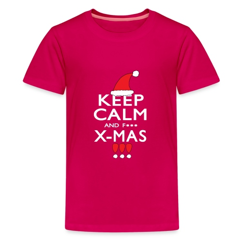 Keep calm XMAS - Teenager Premium T-Shirt