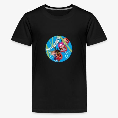 Themepark: Rollercoaster - Teenager Premium T-shirt