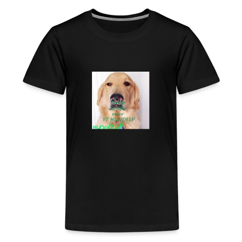 HUNDELPYT MERCH - Teenager Premium T-Shirt