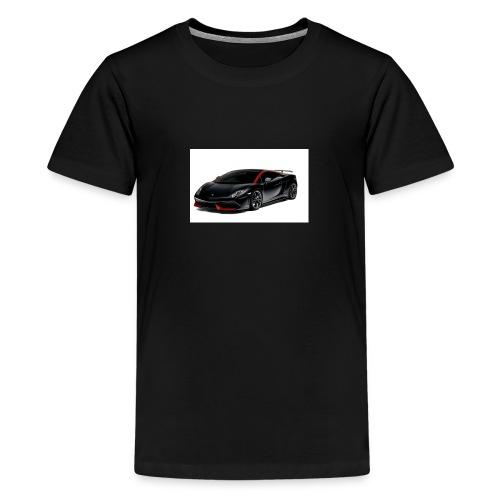 Ahmed Hassan - Teenage Premium T-Shirt