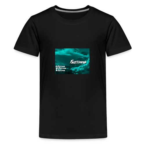 Fast33move - Premium-T-shirt tonåring