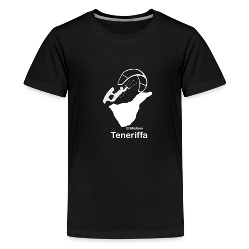 Kitesurfer Teneriffa - Teenager Premium T-Shirt