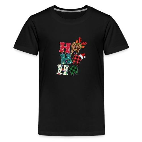 Ho Ho Ho Tooth - Teenage Premium T-Shirt