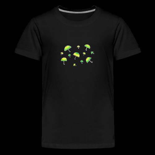 Neon Schirm - Teenager Premium T-Shirt