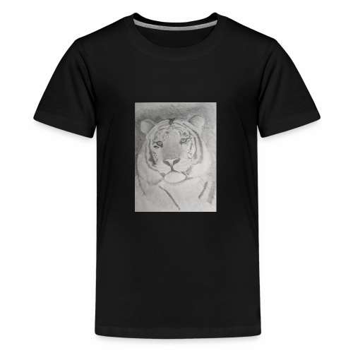 tiger art - Teenage Premium T-Shirt
