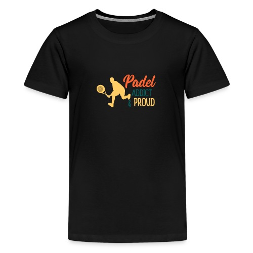 Padeltennis Beroende och Stolt Över Det - Premium-T-shirt tonåring