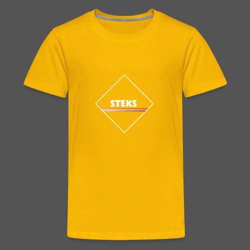 3Color STEKS™ Logo - Teenager Premium T-shirt