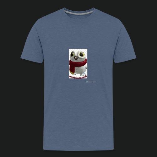 Merch white snow owl - Teenager Premium T-shirt