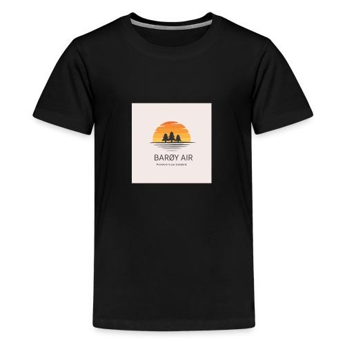 Roblox Airline Barøy Air - Teenage Premium T-Shirt