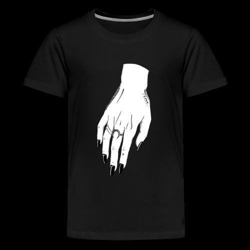 SAFE (female hand) - Camiseta premium adolescente