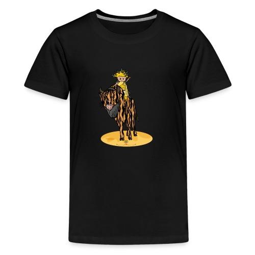 Energiewesen Tigerlus mit Arena - Teenager Premium T-Shirt