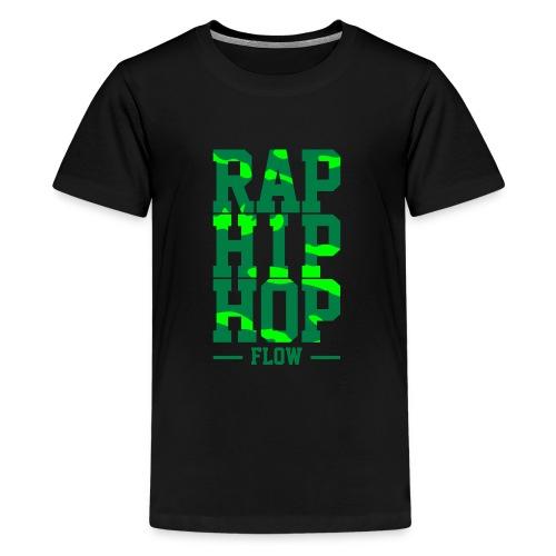 f12c26a156bc Rap Hip Hop Flow - Camiseta premium adolescente