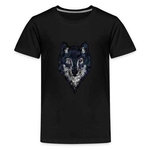 Ulv - Premium T-skjorte for tenåringer