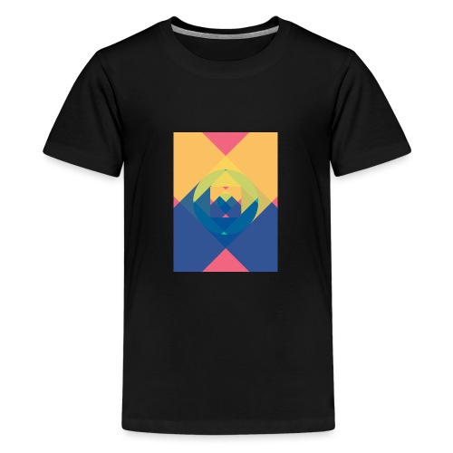square and shadow - Teenager Premium T-Shirt