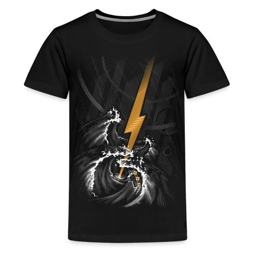 Musical Storm - Teenage Premium T-Shirt