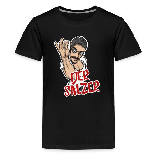 Der Salzer | Grillmeister Tshirt - Teenager Premium T-Shirt