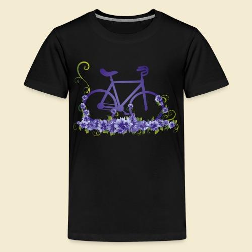 Kunstrad | Flower Power - Teenager Premium T-Shirt