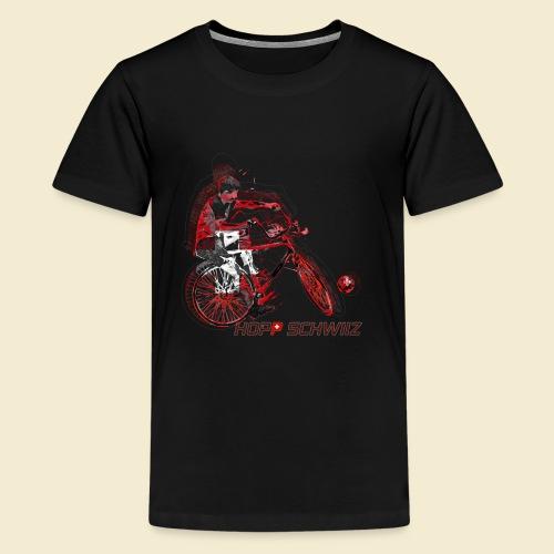 Radball   Hopp Schwiiz - Teenager Premium T-Shirt