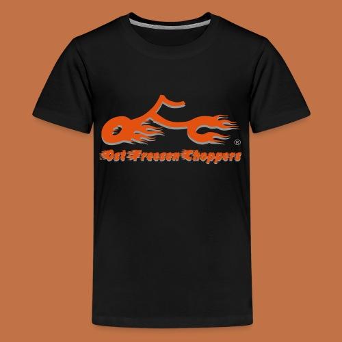 OFC Logo orangegrau 1 0 - Teenager Premium T-Shirt