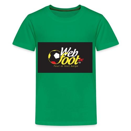 webfoot.be - T-shirt Premium Ado