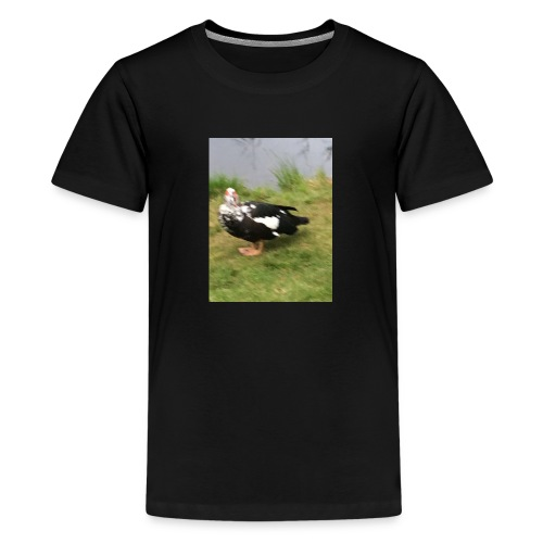 F37664A4 4C6D 44FB 94D8 E6A0EA3D8C90 - Premium T-skjorte for tenåringer