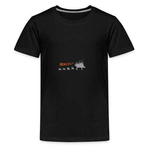Hedgehog style - Teenage Premium T-Shirt