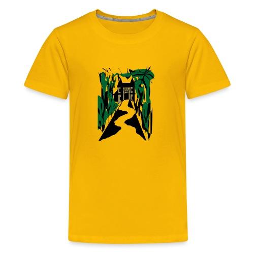 HALLOWEEN SPOOKY HAUNTED MANSION 2017 - Teenager Premium T-Shirt