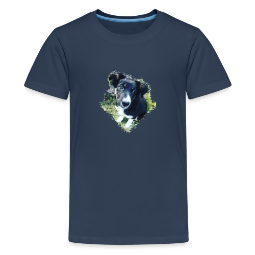 colliegermanshepherdpup - Teenage Premium T-Shirt