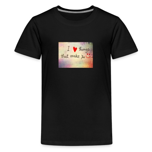 liefdes t-shirts - Teenager Premium T-shirt