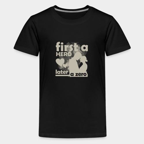 GHB from Hero to Zero 19032018 10 FA - Teenager Premium T-Shirt