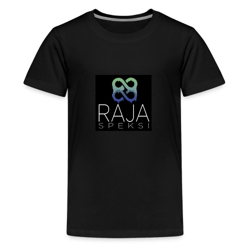 RajaSpeksin logo - Teinien premium t-paita