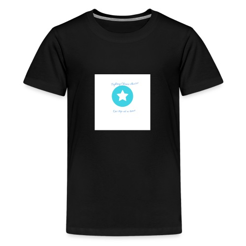 Fighting chronic illnesses one step at a time - Teenage Premium T-Shirt