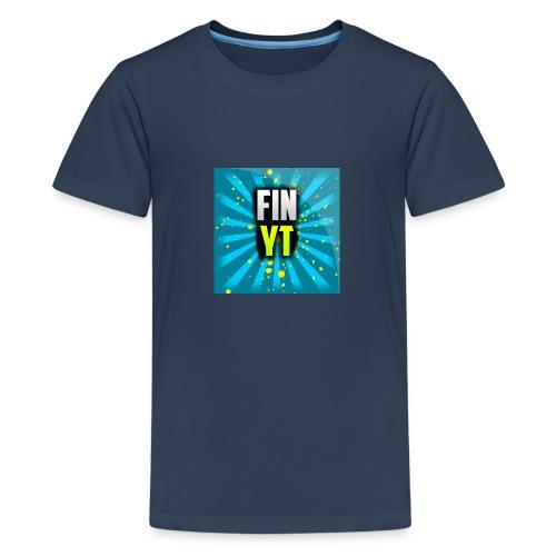Uusi Youtube Logo - Teinien premium t-paita